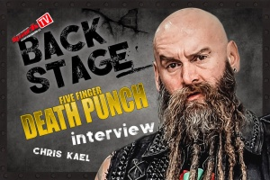 Vousáč Chris z FIVE FINGER DEATH PUNCH pokecal se Spark TV!