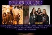 INVADER pojedou české turné s HEADFIRE