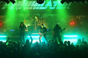 ANNIHILATOR - 22. 10. 2015, Zlín, Masters of Rock Café
