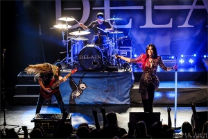 LIVE: Delain, Evergrey, Kobra and the Lotus - 22.10.2016, Zlín, MOR Café