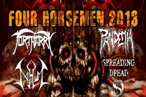Four Horsemen Tour 2013