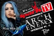 SPARK TV: Duší jsem modrá velryba, tvrdí Alissa z ARCH ENEMY.