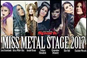 Zvolte Spark MISS METAL STAGE 2017