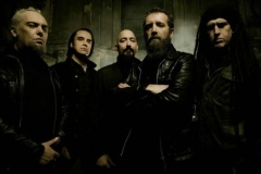 PARADISE LOST, LUCIFER, SILENT STREAM OF GODLESS ELEGY - 24. 10. 2015, Ostrava, Barrák