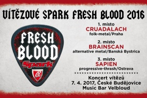CRUADALACH vítězí ve Spark Fresh Blood 2016