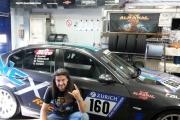 Victor Smolski jede 24hodinový automobilový závod