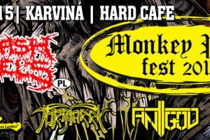 Monkey Puss Fest 2015 - 14. 11. 2015, Karviná, Hard Cafe